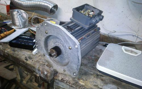 Original induction motor - 37kg