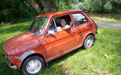Fiat 126 was my dream after this time (Borčice 2011)
